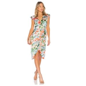 Alice + Olivia Garnet Dress Floral Fields 2